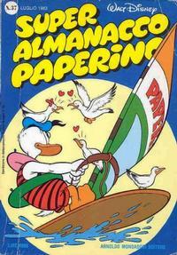 Cover Thumbnail for Super Almanacco Paperino (Arnoldo Mondadori Editore, 1980 series) #37