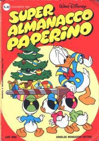 Cover Thumbnail for Super Almanacco Paperino (Arnoldo Mondadori Editore, 1980 series) #42