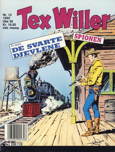 Cover for Tex Willer (Semic, 1977 series) #13/1992