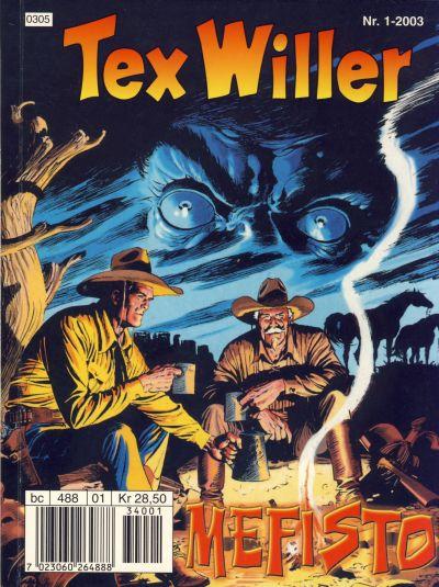 Cover for Tex Willer (Hjemmet / Egmont, 1998 series) #1/2003