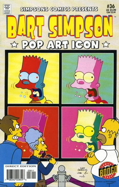 Cover for Simpsons Comics Presents Bart Simpson (Bongo, 2000 series) #36