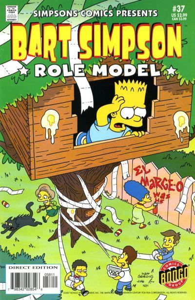 Cover for Simpsons Comics Presents Bart Simpson (Bongo, 2000 series) #37