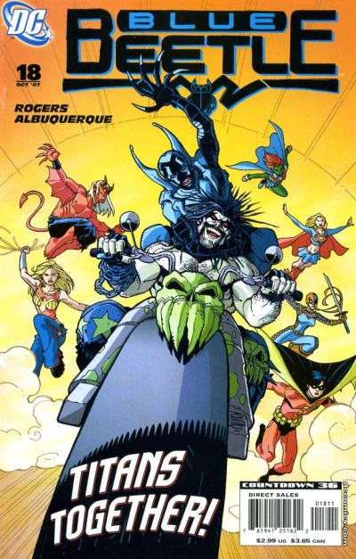 Cover for The Blue Beetle (DC, 2006 series) #18