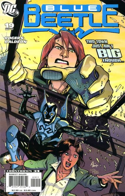 Cover for The Blue Beetle (DC, 2006 series) #19