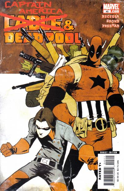 Cover for Cable & Deadpool (Marvel, 2006 series) #45