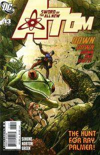 Cover Thumbnail for The All New Atom (DC, 2006 series) #13