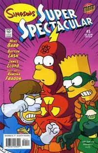 Cover Thumbnail for Bongo Comics Presents Simpsons Super Spectacular (Bongo, 2005 series) #5