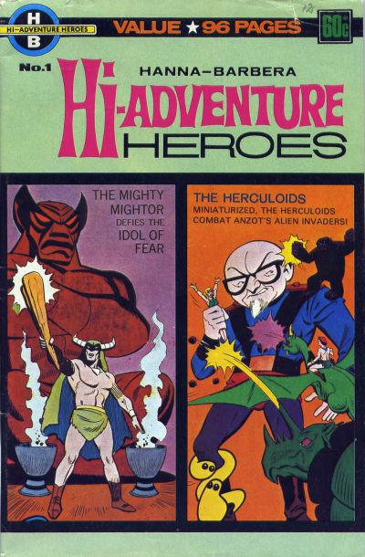 Cover for Hanna-Barbera Hi-Adventure Heroes (K. G. Murray, 1976 series) #1