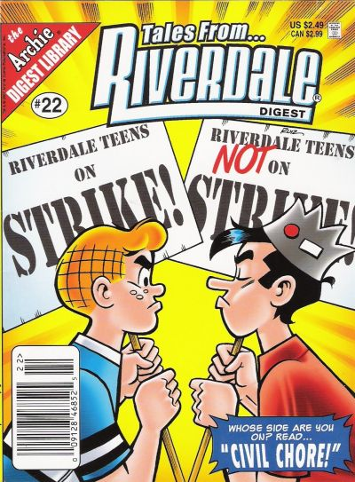 Cover for Tales from Riverdale Digest (Archie, 2005 series) #22