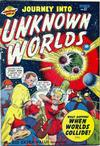 Cover for Journey into Unknown Worlds (Bell Features, 1950 series) #37