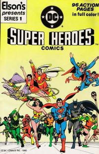 Cover Thumbnail for Elson's Presents Super Heroes Comics (DC, 1981 series) #1