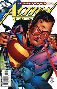 Cover for Action Comics (DC, 1938 series) #852