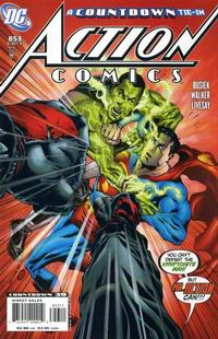 Cover Thumbnail for Action Comics (DC, 1938 series) #853 [Direct Sales]
