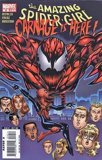 Cover Thumbnail for Amazing Spider-Girl (Marvel, 2006 series) #10