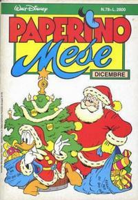 Cover Thumbnail for Paperino Mese (Arnoldo Mondadori Editore, 1986 series) #78