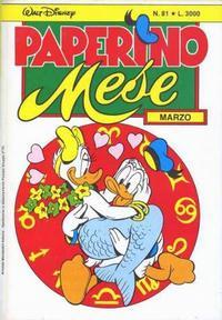 Cover Thumbnail for Paperino Mese (Arnoldo Mondadori Editore, 1986 series) #81