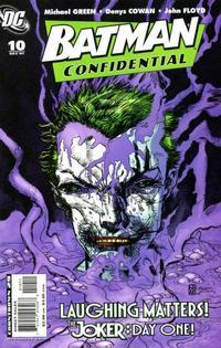 Cover Thumbnail for Batman Confidential (DC, 2007 series) #10