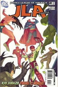 Cover Thumbnail for JLA: Classified (DC, 2005 series) #41 [Direct Sales]