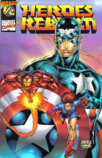 Cover Thumbnail for Heroes Reborn (Marvel; Wizard, 1996 series) #1/2