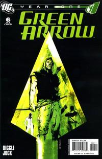 Cover Thumbnail for Green Arrow: Year One (DC, 2007 series) #6