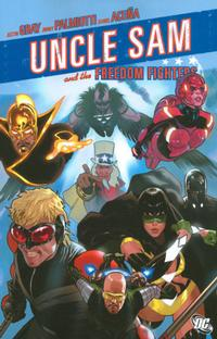 Cover Thumbnail for Uncle Sam and the Freedom Fighters (DC, 2007 series)
