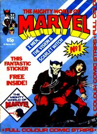 Cover Thumbnail for The Mighty World of Marvel (Marvel UK, 1982 series) #1