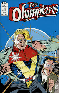 Cover Thumbnail for The Olympians (Marvel, 1991 series) #2