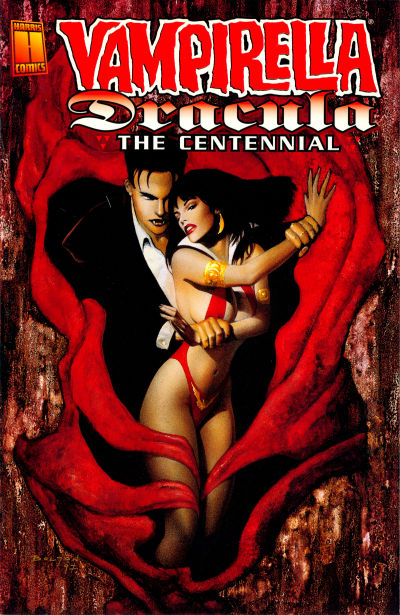 Cover for Vampirella / Dracula: The Centennial (Harris Comics, 1997 series)