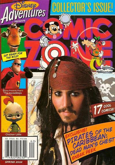 Cover for Disney Adventures Comic Zone (Disney, 2004 series) #Spring 2006 [7]
