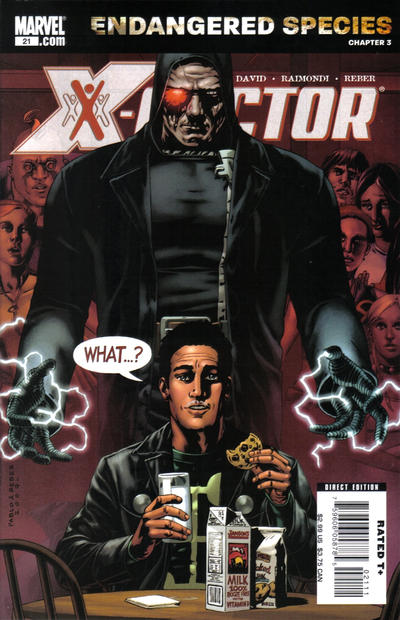 Cover for X-Factor (Marvel, 2006 series) #21