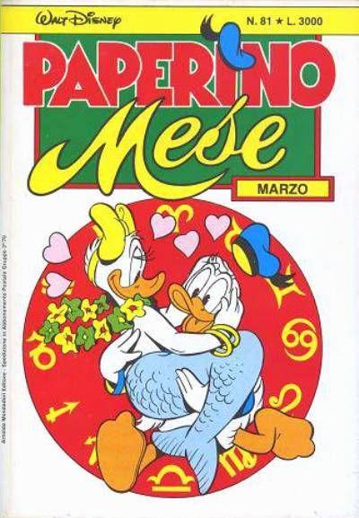 Cover for Paperino Mese (Arnoldo Mondadori Editore, 1986 series) #81