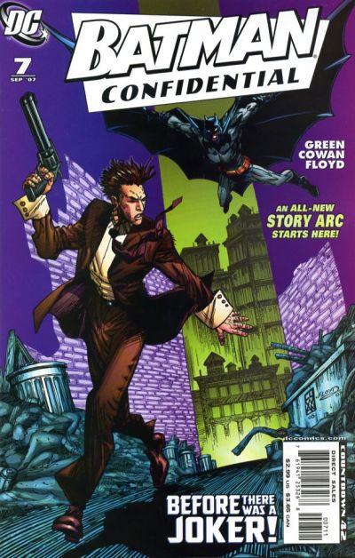 Cover for Batman Confidential (DC, 2007 series) #7