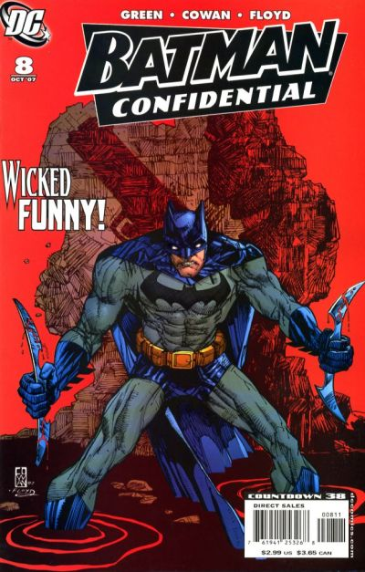 Cover for Batman Confidential (DC, 2007 series) #8