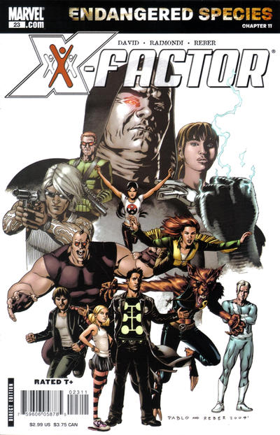 Cover for X-Factor (Marvel, 2006 series) #23