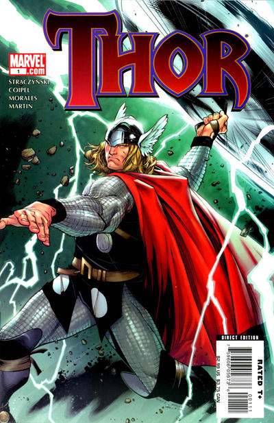 Cover for Thor (Marvel, 2007 series) #1 [Variant Cover]