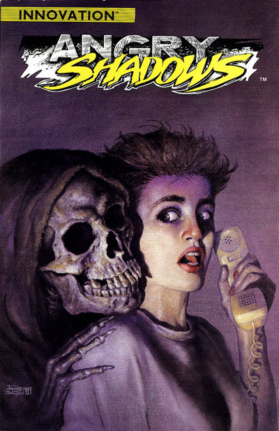 Cover for Angry Shadows (Innovation, 1989 series) #1