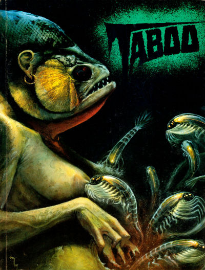 Cover for Taboo (Spiderbaby Grafix & Publications, 1988 series) #2