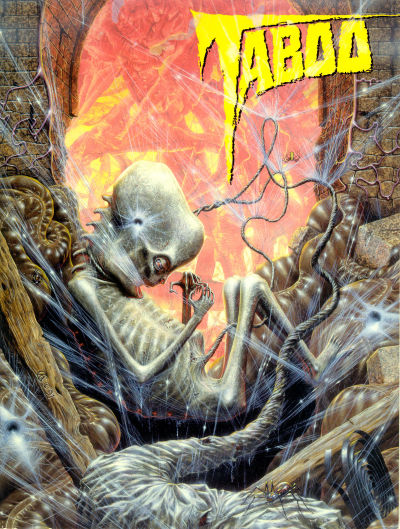 Cover for Taboo (Kitchen Sink Press, 1995 series) #9