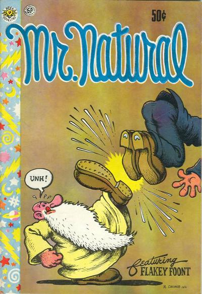 Cover for Mr. Natural (San Francisco Comic Book Company, 1970 series) #1