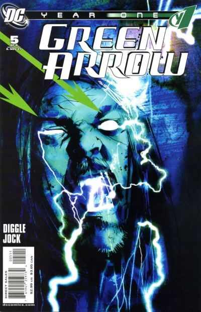 Cover for Green Arrow: Year One (DC, 2007 series) #5