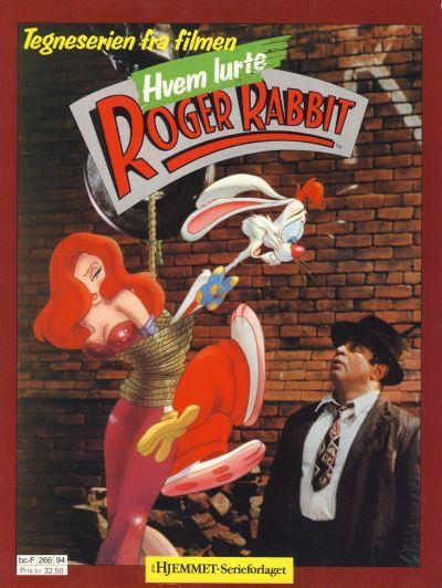 Cover for Hvem lurte Roger Rabbit (Hjemmet / Egmont, 1989 series)