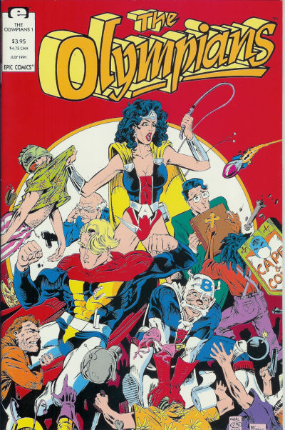 Cover for The Olympians (Marvel, 1991 series) #1