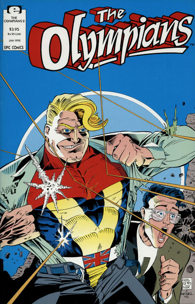 Cover for The Olympians (Marvel, 1991 series) #2