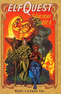 Cover Thumbnail for ElfQuest: The Searcher and the Sword (DC, 2005 series)