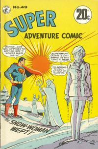 Cover Thumbnail for Super Adventure Comic (K. G. Murray, 1960 series) #49