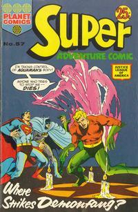 Cover Thumbnail for Super Adventure Comic (K. G. Murray, 1960 series) #57
