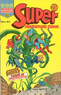 Cover Thumbnail for Super Adventure Comic (K. G. Murray, 1960 series) #61