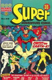 Cover Thumbnail for Super Adventure Comic (K. G. Murray, 1960 series) #68