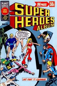 Cover Thumbnail for Super Heroes Album (K. G. Murray, 1976 series) #5