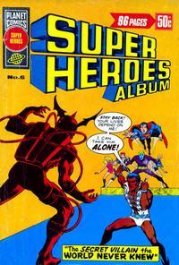Cover Thumbnail for Super Heroes Album (K. G. Murray, 1976 series) #6